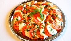 Mísa mozzarella s rajčaty